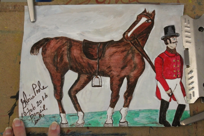 horse-and-top-hat-sketch-drawn-painted-by-gloriapoole-of-Missouri-10-Feb-2016-8x11-inks