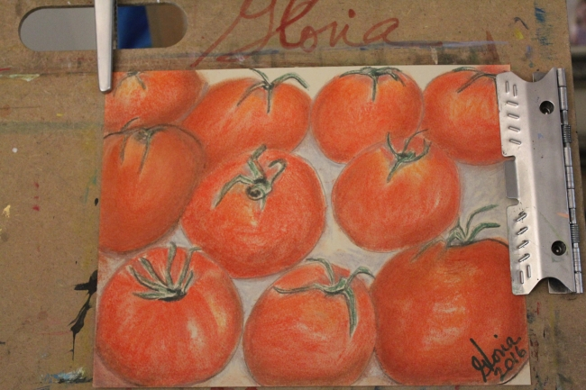 ten-tomatoes-sketch-painted-by-gloriapoole-of-Missouri-24-Feb-2016-8x11-soft-pastels